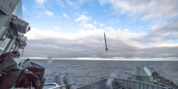British Royal Navy Completes New Sea Ceptor Trials