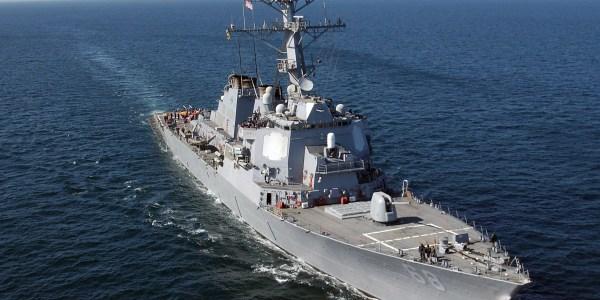 US Arleigh Burke Destroyer Tests SM-2