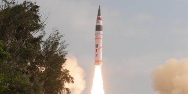 India Test Fires Agni-5 ICBM and Four SAMs