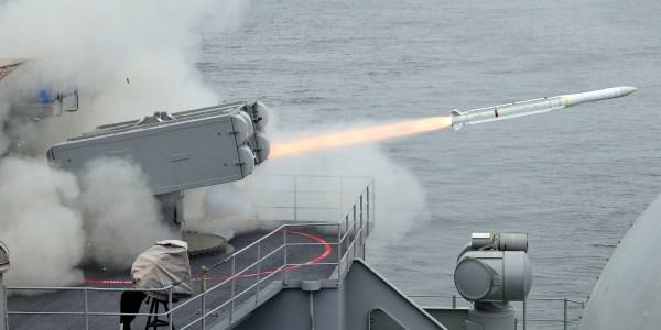 NATO Seasparrow Tests ESSM Block 2 Interceptor