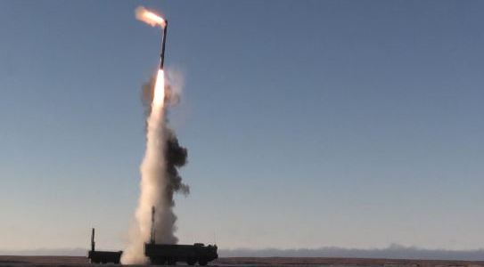 Russia Test Fires Onyx Antiship Missile