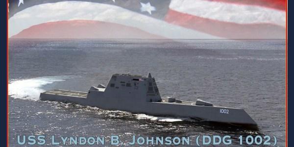 US Navy Launches Third Zumwalt-Class Destroyer