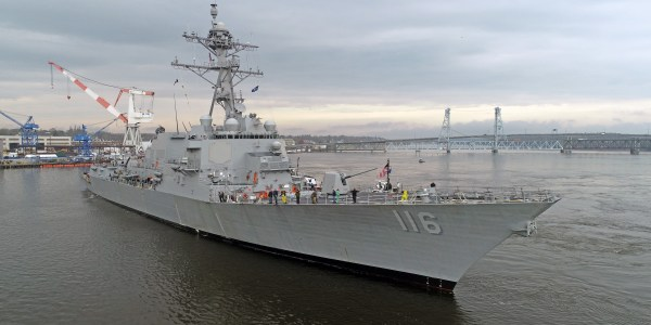 US Navy Commissions Destroyer USS Thomas Hudner