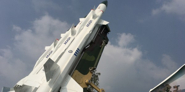 India Test Fires Akash Surface-to-Air Missile