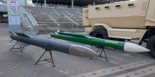 Belarus Shows Prototype 9M318 Surface-to-Air Missile