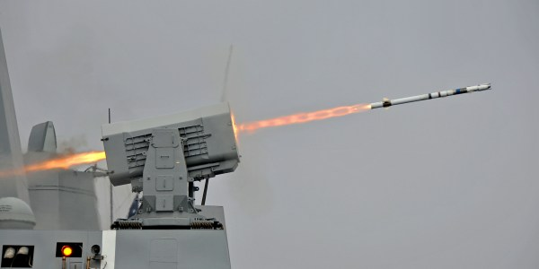Navy Flight Tests Upgraded Rolling Airframe Missile