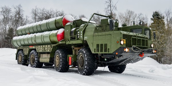 Russia Delivers S-400 Surface-to-Air Missile System to Turkey