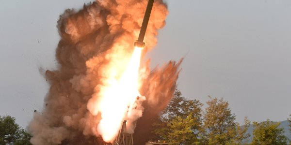 North Korea Launches Short-range Missiles