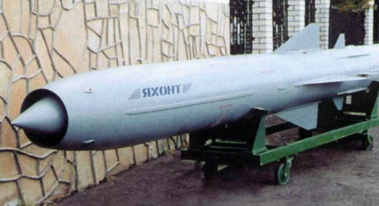 Russia Upgrading Oniks Missile