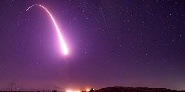 USAF Tests Minuteman III ICBM