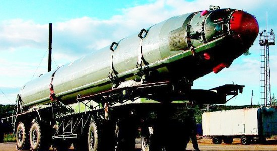 Russia Test Fires Ballistic Missiles