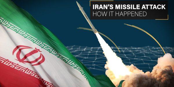 Iran's Missile Strike: How it Happened (Video)