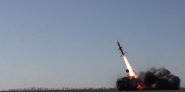 Ukraine Tests Antiship Missile