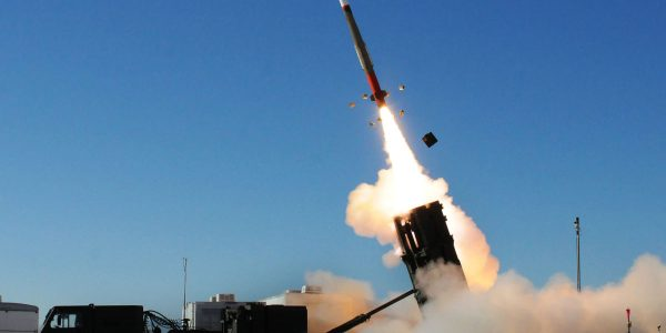 Patriot Missile Misfires in Test