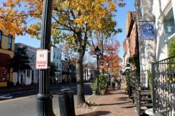 Город Александрия, штат Вирджиния: английская колониальная архитектура района Old Town. Источник http://www.justmytravelling.com