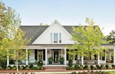 Архитектура США: стиль colonial, farmhouse (реновация HistoricalConcepts). Источник