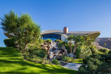 Дом в стиле Desert Modernism в Палм Спрингс. Источник http://www.2luxury2.com