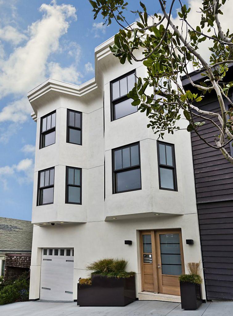 Экстерьер дома в стиле Edwardian Victorian в Сан-Франциско. Источник http://www.sothebyshomes.com