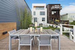 Патио дома в стиле Edwardian Victorian в Сан-Франциско. Источник http://www.sothebyshomes.com