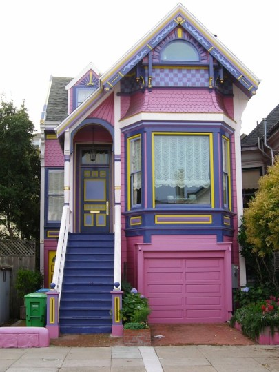 Дом в Сан-Франциско в стиле Истлейк (Eastlake). Источник www.kelownanow.com