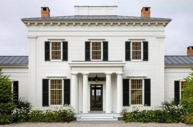 Дом в американском георгианском стиле
