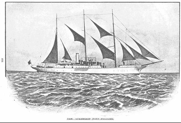 "The London Missionary Society Steamship ""John Williams"""