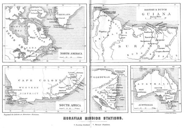 Augustus C. Thompson [1812-1901], Moravian Missions. Twelve Lectures