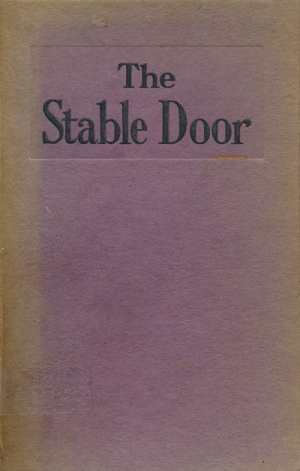 A.M. Locke, The Stable Door. Sketches of Child Life in Northern Nigeria.