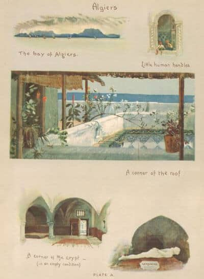 I. Lilias Trotter, Between the Desert and the Sea (with 16 paintings).