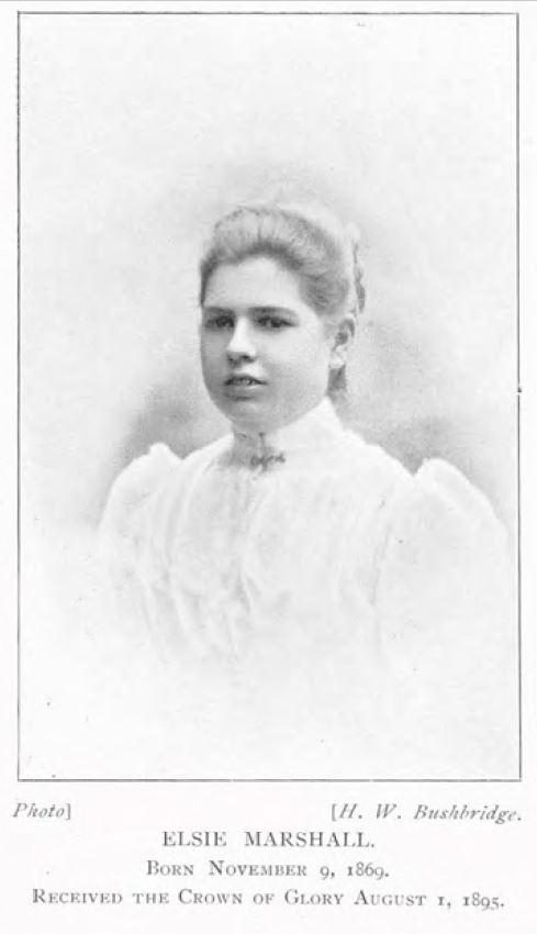 Elsie Marshall [1869-1895]