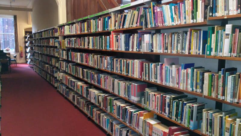 The Library at All Nations Christian College