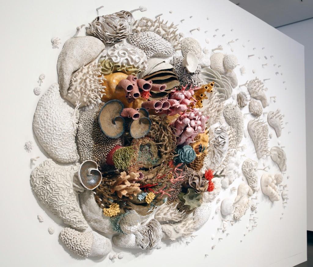 Art Brings The Coral Reef Crisis Above The Surface