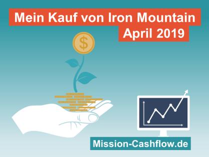 April 2019: Kauf von Iron Mountain Inc. (IRM)
