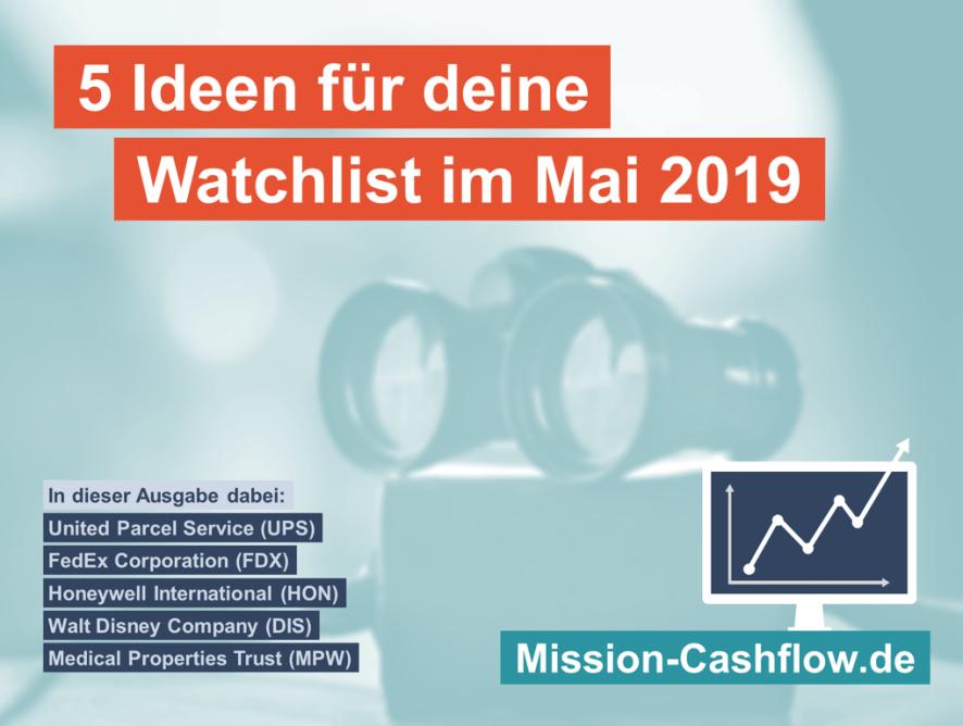 5 Ideen für deine Watchlist im Mai 2019