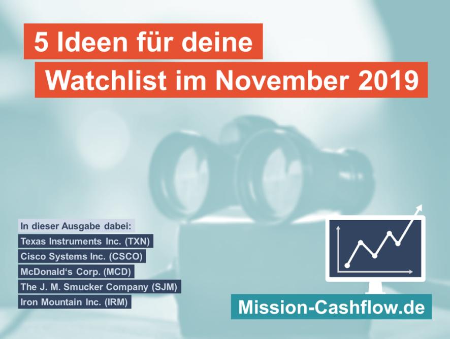 5 Ideen für deine Watchlist im November 2019