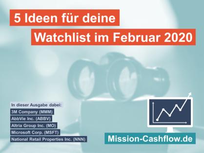 5 Ideen für deine Watchlist im Februar 2020