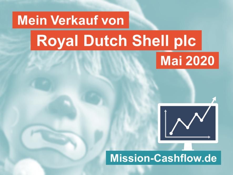 Mai 2020: Verkauf von Royal Dutch Shell plc (RDSB)