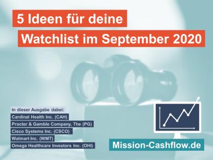 5 Ideen für deine Watchlist im September 2020