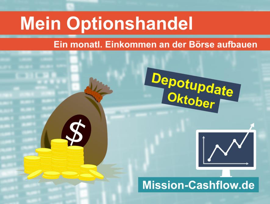 Oktober 2020: Mein monatliches Einkommen durch den Optionshandel