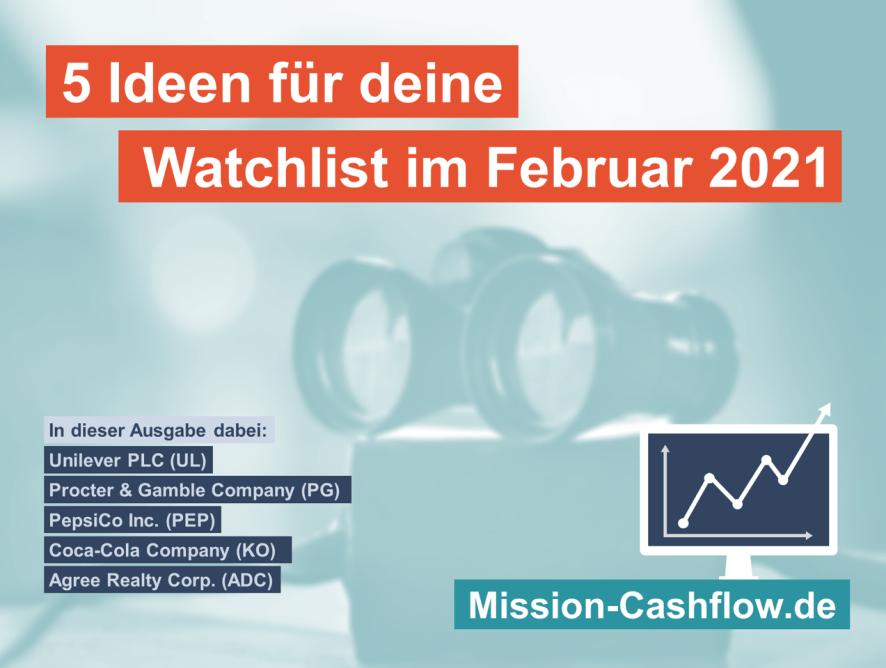 5 Ideen für deine Watchlist im Februar 2021
