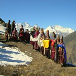 Welcoming to the Himalayas