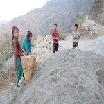 Nepal Mission No-way-without-labour-and-carrying-sand WHAT AND HOW WE WORK