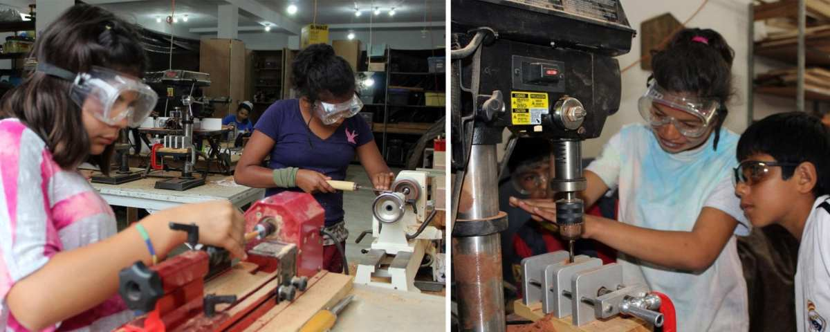 empowering women through woodworking