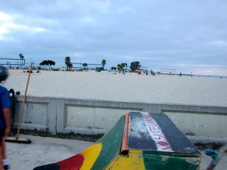 Boardwalk Ramp Skateboarding