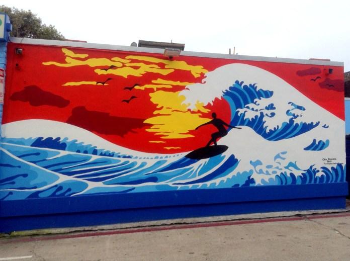 Wall Mural Mission Beach