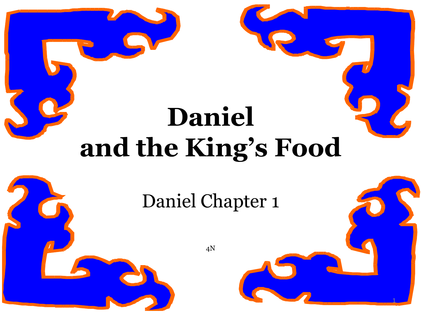 Daniel And The King S Food Mission Bible Class