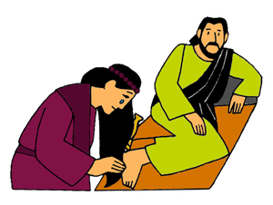 Anointing the Feet of Jesus | Saint Mary's Press | 226x300