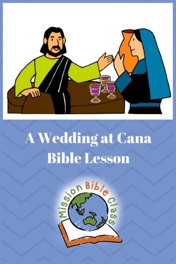 A Wedding at Cana Pin