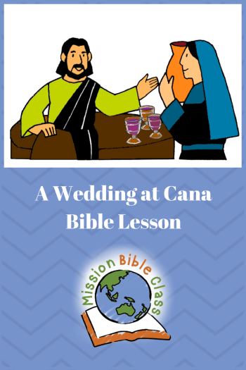 A Wedding at Cana Pin