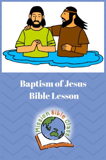 Baptism of Jesus Pin